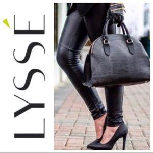 Lysse faux leather leggings.
